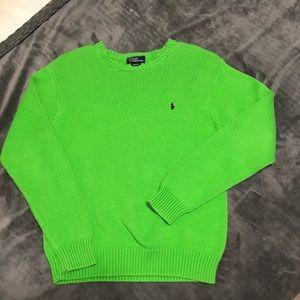 ❄️ Boys Polo Sweater Size 12/14 ❄️